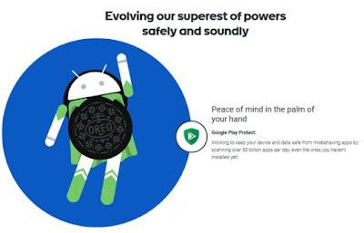 Fitur Baru Google Play Protect Android Oreo Untuk Melindungi Data