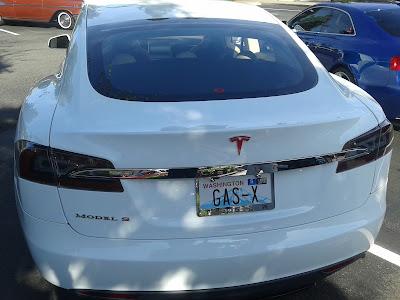 Gas X Tesla Model S