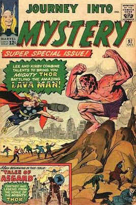 Journey Into Mystery #97, Thor vs the Lava Man