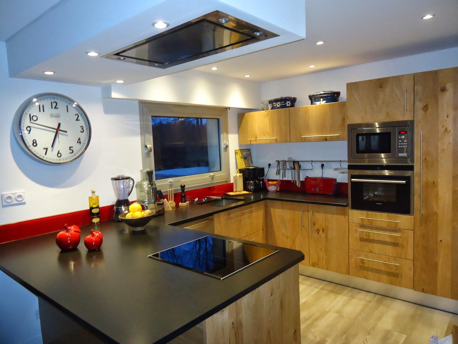 deco cuisine moderne. Black Bedroom Furniture Sets. Home Design Ideas
