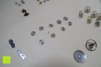 Erfahrungsbericht: 10g Uhrenteile Steampunk antikes Uhrwerk Taschenuhr Teile für Kunst Bastel und Handwerksarbeiten von Curtzy TM
