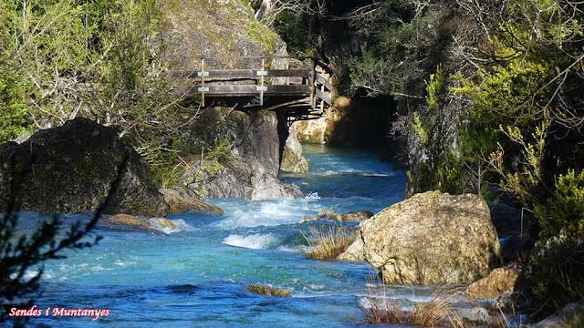 Saliendo cerrada Elías, río Borosa, Pontones, Sierra de Cazorla, Jaén, Andalucía