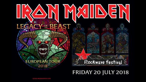 Οι Iron Maiden επίσημα στο Rockwave Festival 2018