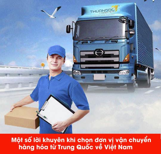 thương đô vận chuyển hàng uy tín