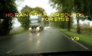 HQ Rain & Thunder Sounds V3