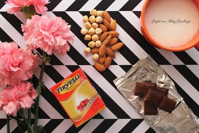 Karamelli Çikolata Nasıl Yapılır