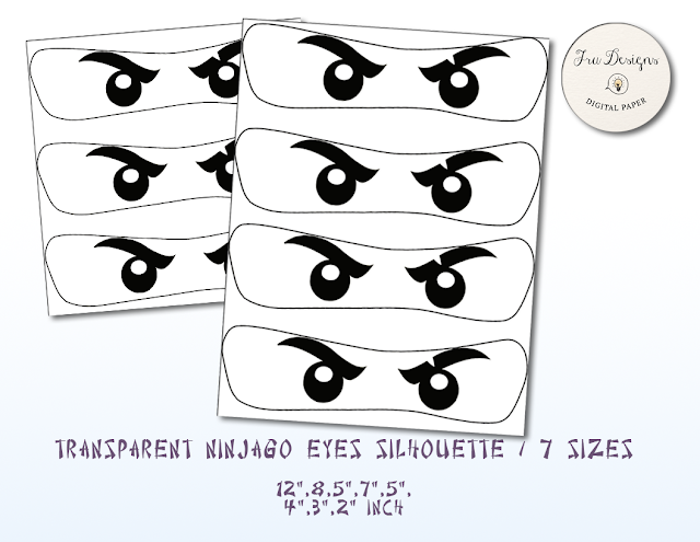 image about Printable Eyes titled NinjaGo Eyes Body - NinjaGo No cost Printable Eye Frames