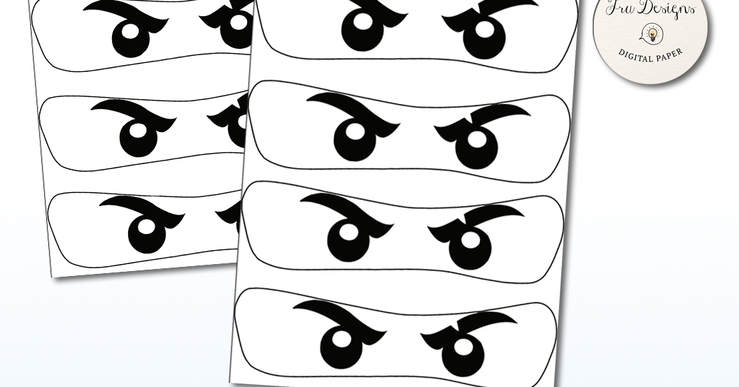 It's just an image of Printable Ninjago Eyes intended for pumpkin