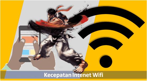 kecepatan akses internet wifi