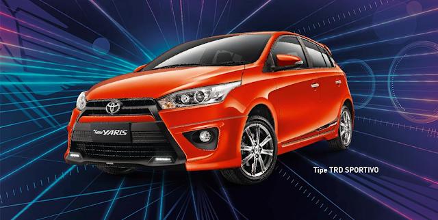 Spesifikasi All New Yaris Trd 2014 Toyota Sportivo Price Tipe Fitur Dan Harga