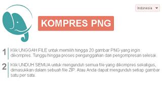 Cara compress dan resize image foto JPEG, PNG, PDF secara online