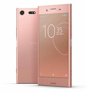 Sony Xperia XZ premium warna bronze pink