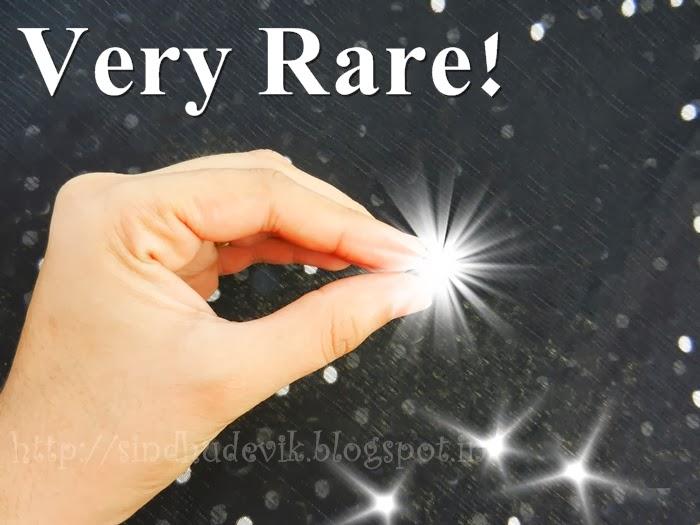 Very rare precious stone in hand, Platinum & Love - Both Are Very Rare