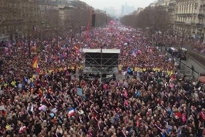 1.400.000 contra o 'casamento' homossexual