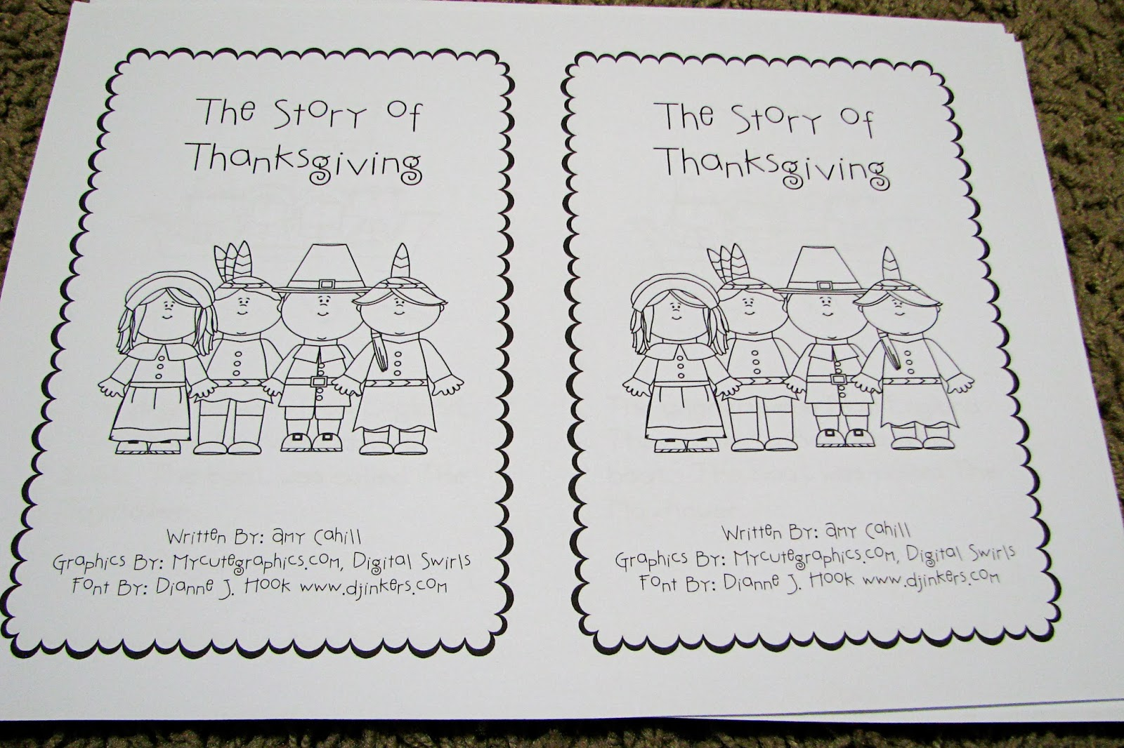 Mommy S Little Helper Thanksgiving Preschool Activities