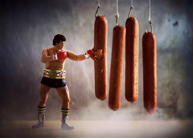 Брюс Ли против сосисок
