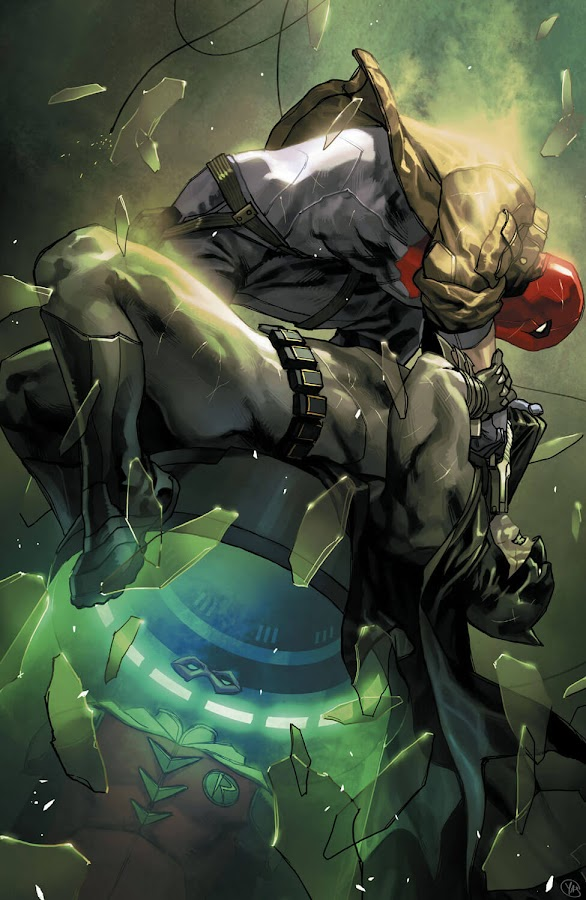 batman vs red hood dc comics