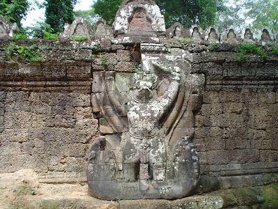 Angkorwat engraved stones - Cambodia