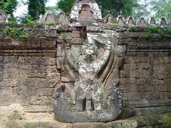 Piedras grabadas en Angkorwat - Camboya