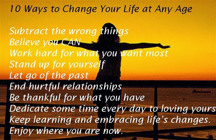 Change Your Life Inspirational Quotes. QuotesGram