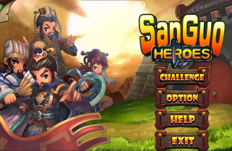 เกมสามก๊ก Heroes of Three Kingdoms (Sanguo Heroes)