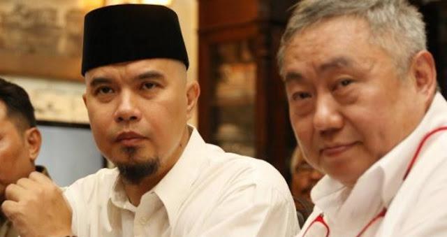 Ahmad Dhani: Pak Jokowi Yang Ganteng, Minum Aja Ada Adabnya Di Islam Apalagi Bernegara