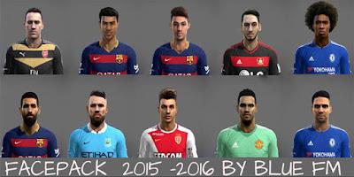 Facepack 2015-2016 Pes 2013 by BLUE FM v2