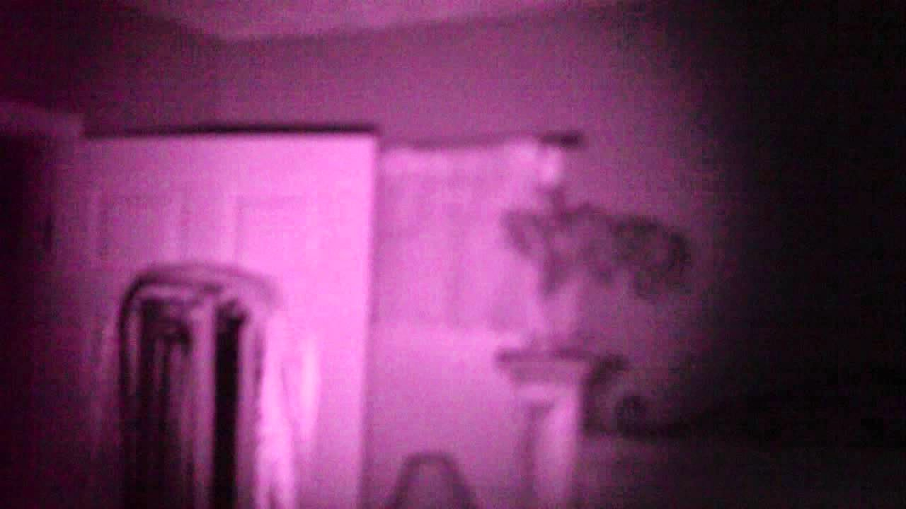 Night vision camcorders for ghost searching