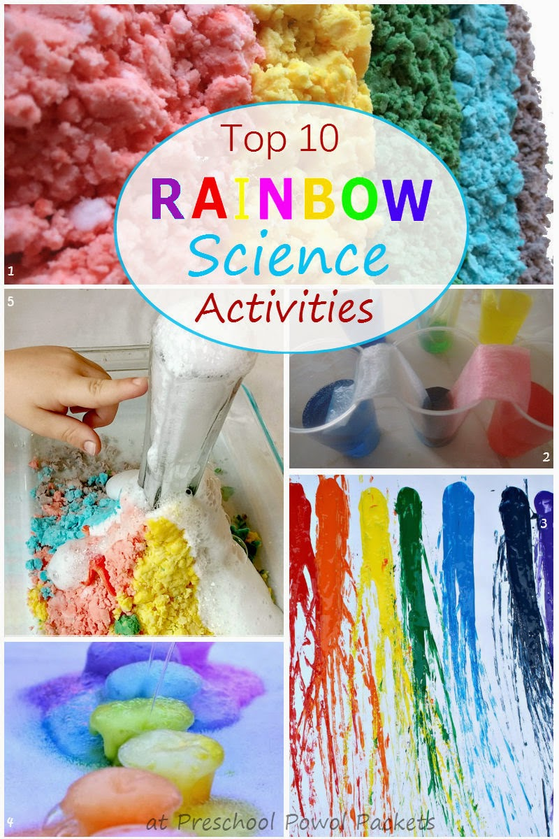 science rainbow activities experiments preschool crafts preschoolers projects fun rainbows classroom preschoolpowolpackets cool age read collection