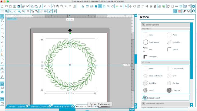 designing monogram frames silhouette studio