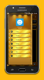 BBM Mod Black Gold Angelic v3.2.5.12 Base Transparan Apk
