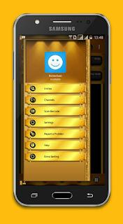 BBM Mod Black Gold Angelic v3.2.5.12 Base Transparan Apk
