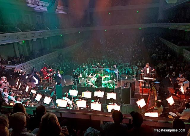 Apresentação musical no Schermerhorn Symphony Center