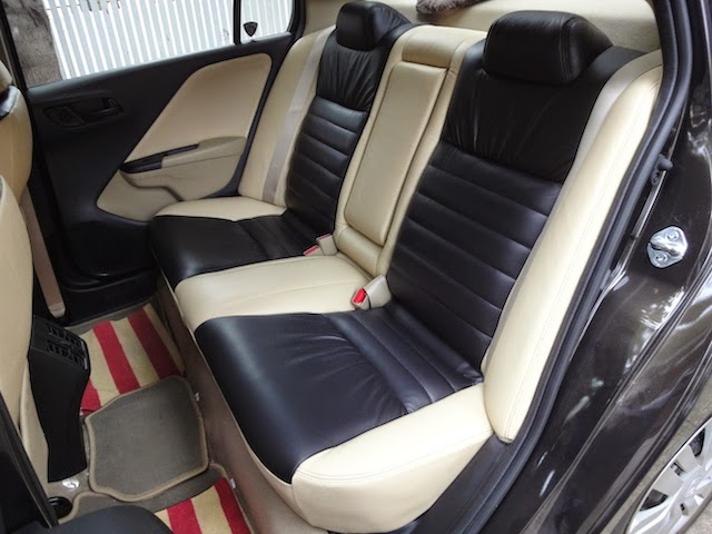 Stanley Leather Car Seat Covers Honda City