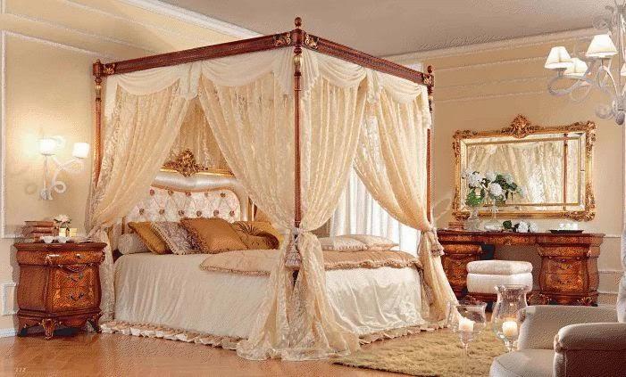 Decoración dormitorio romántico