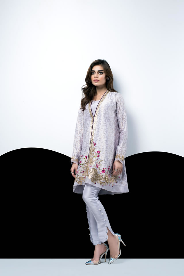 Fashion Fashion Trends Women's Fashion Women's Trends Dresses Collection Pakistani Dresses Summer Dresses Collection Sania Maskatiya Autumn Shades Women Fashion Dresses Collection 2016