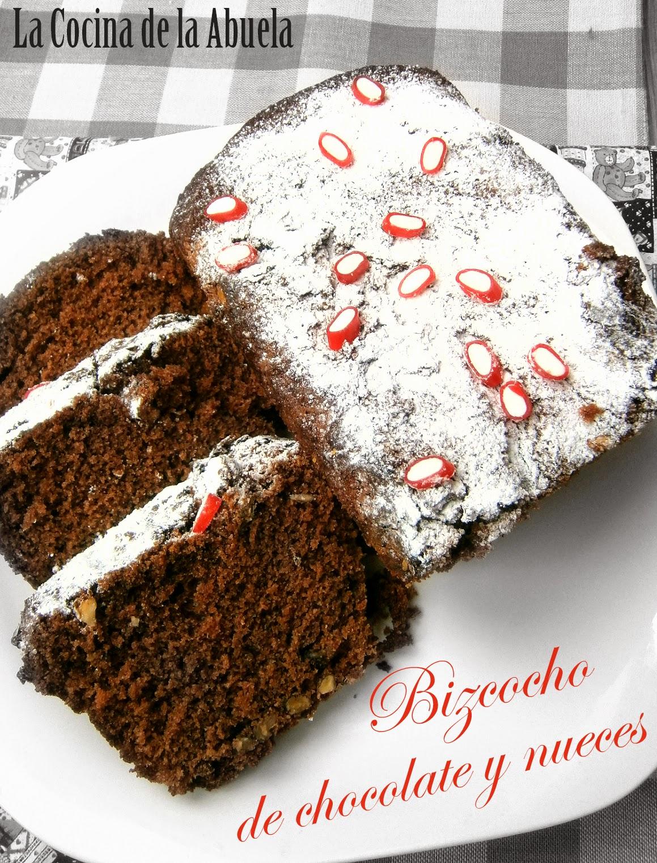 Bizcocho de Chocolate y Nueces (Nesquik)