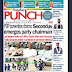 NAIJA NEWSPAPERS: TODAY'S THE PUNCH NEWSPAPER HEADLINES [10TH DECEMBER, 2017].