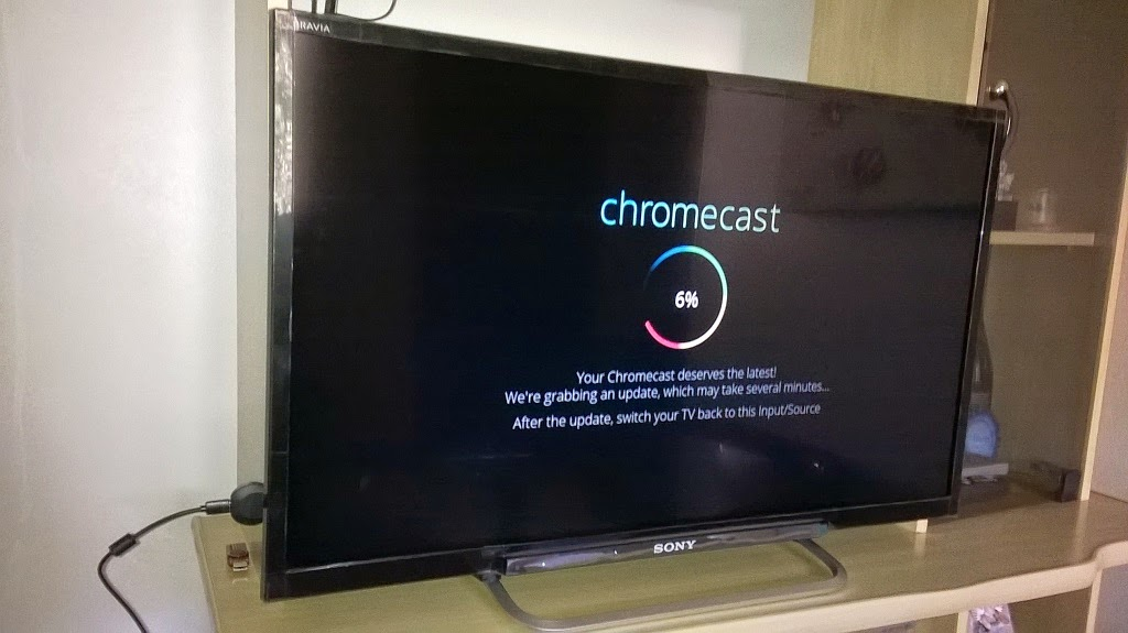 google chromecast configuracao tv 4