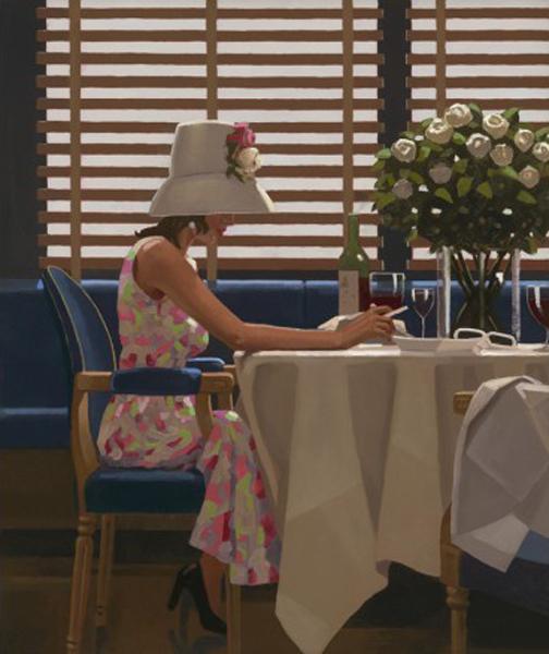 Dias de Vinho e Rosa - Jack Vettriano e suas pinturas cheias de encontros íntimos