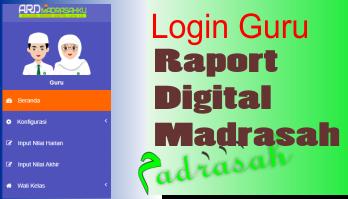 Cara Mendapatkan User Dan Pasword Guru Di Aplikasi Raport Digital Madrasah