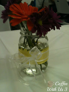 Yellow Ribbon Centerpieces