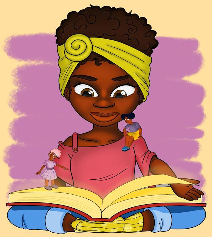 100 livros infantis com meninas negras