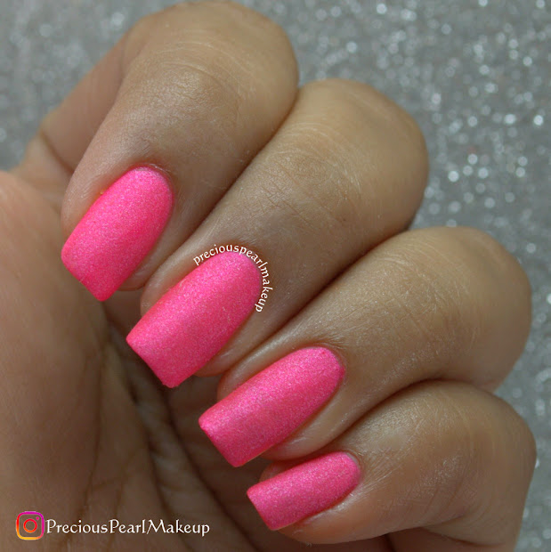 preciouspearlmakeup matte pink