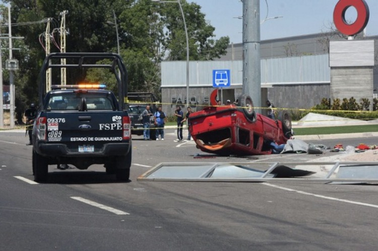Asesinan a elemento de la FSPE  en Irapuato, Guanajuato