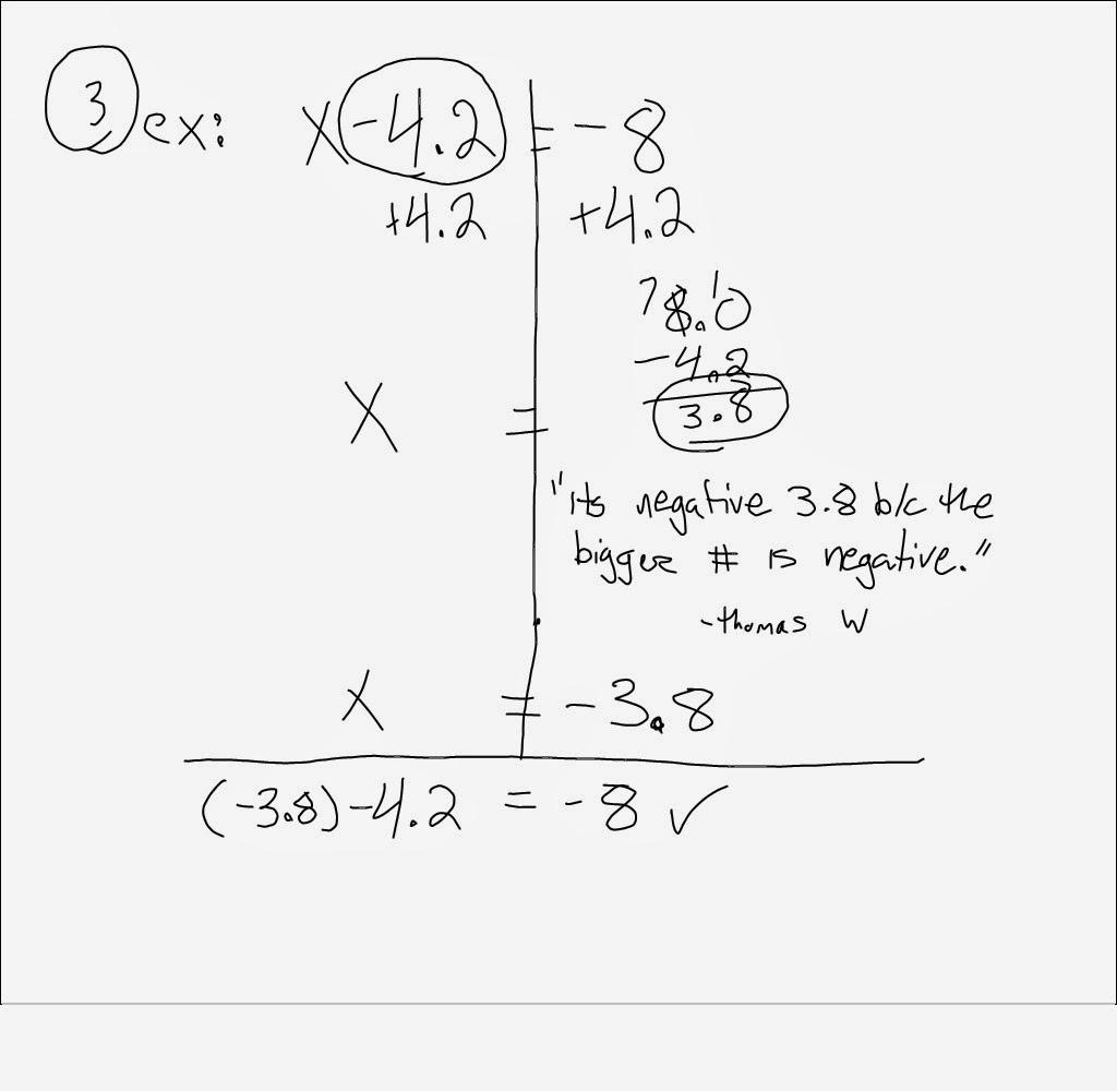 Mr Schoolar Math: 3rd and 4th period 12-5