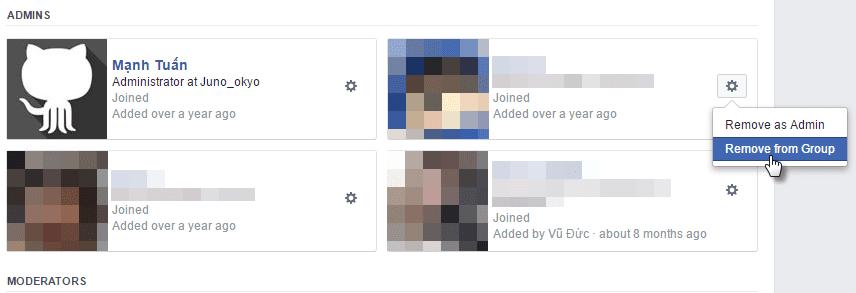 Moderator Role - Facebook Group