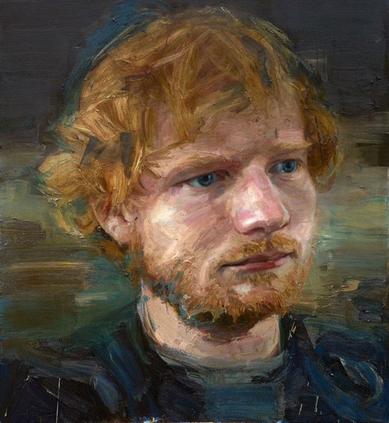 Ed Sheeran Oil Painting