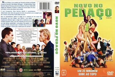 Filme Novo no Pedaço (The New Guy) DVD Capa