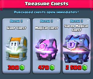 Cara Mudah Mendapatkan Super Magical Chest Clash Royale